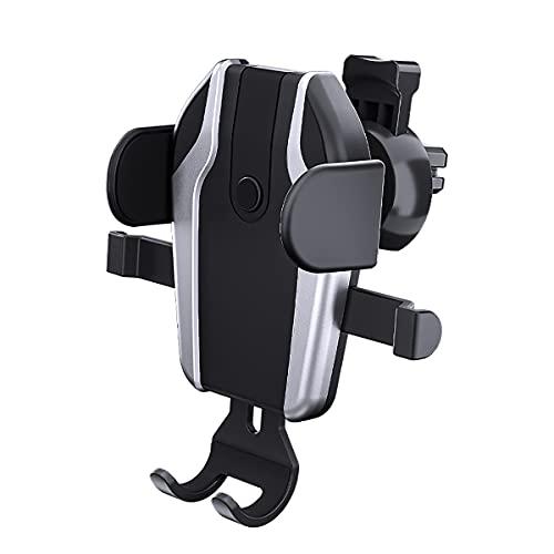 JZLPY Soporte Móvil para Coche, Rotación De 360 ° Universal Porta Movil Coche Ventosa para Tablero De Instrumentos/Parabrisas para Coche Car La Mayoría De Los Téléfonos Inteligentes