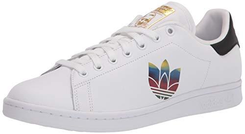 adidas Originals Stan Smith - Zapatillas para Mujer, Color Blanco, Blanco y Negro, Talla N 34,5, Color, Talla 37 1/3 EU