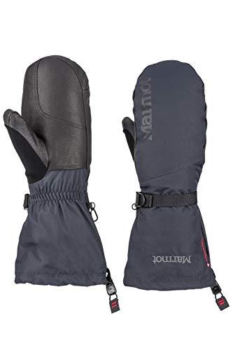 Marmot Herren Hardshell Ski und Snowboard Handschuhe, Fäustlinge, Winddicht, Wasserdicht, Atmungsaktiv Expedition Mitt, Black, XL, 11600