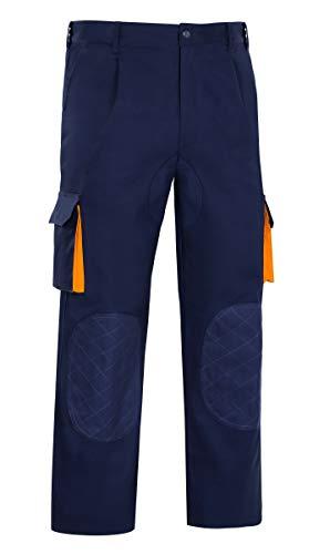VESIN prga-36am-t54–Pantalon Cargo bicolor Algodon L5000