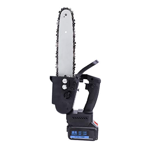 GLJ Motosierra Portátil Eléctrica Inalámbrica con Motor Sin Escobillas, Tijeras de Podar con Una Mano Sierra de Cadena, para Corte de Madera de Rama de Árbol (Size : 20000Ah-2 Batteries)