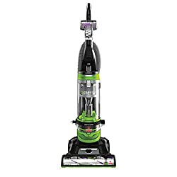 Bissell Cleanview Rewind Pet Deluxe Upright Vacuum in green.