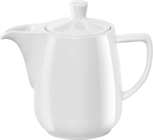 Melitta 219087 Kanne Porzellan Kaffeekanne 0,6l Weiß