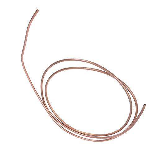 Tubo di rame, tubo di rame, tubo di rame, resistenza alla temperatura, resistenza all'ossidazione, rame realizzato per condizionatore d'aria frigorifero Od 5mm / ID 3mm