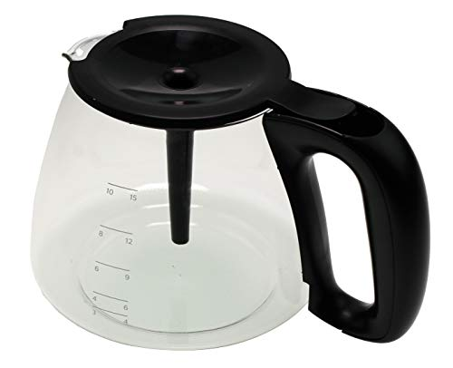 Philips HD5022 - Jarra de cristal para cafetera Viva Collection, Café Gaia, Aroma-Twister