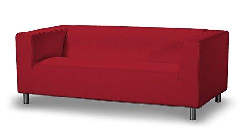 Dekoria  629-705-60 Copridivano 2 posti, Collezione Etna, 140 cm, Rosso