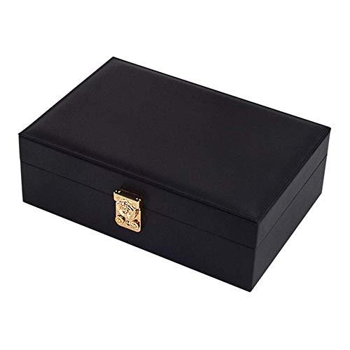 ASDAD Sieraden Box Lederen Organisator Stackers Blush Kleine Reizen Voor Oorbellen Armbanden Ringen Afsluitbaar Voor Meisjes Gift