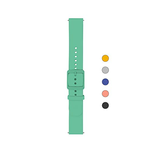 Withings/Nokia - Wristbands for Steel HR 36mm, Steel HR Rose Gold, Move, Steel, Activite, Pop, Mint - Plastic Buckle, 3700546705359 , One Size Fits all