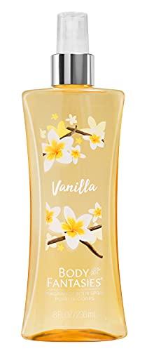 Body Fantasies Spray De Perfume Para El Cuerpo, Vanilla, 1 x 236 ml