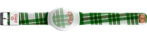 Orologio digitale unisex piccolo ZITTO SCOTT STREET EDITION in silicone verde MCGREGOR-MINI-KM