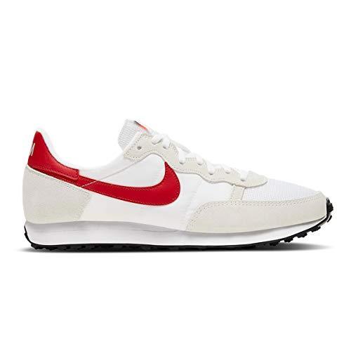 Nike Zapatillas de running para hombre, blanco rojo (White University Red), 47.5 EU