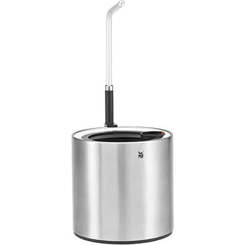 WMF Ambient Pflanzenlampe für Kräuter@home Single, Grow Light, wachstumsförderndes LED-Pflanzenlicht, bis zu 18 cm höhenverstellbar, Lichtsteuerung über Touch-Funktion, Überwinterung, edelstahl matt