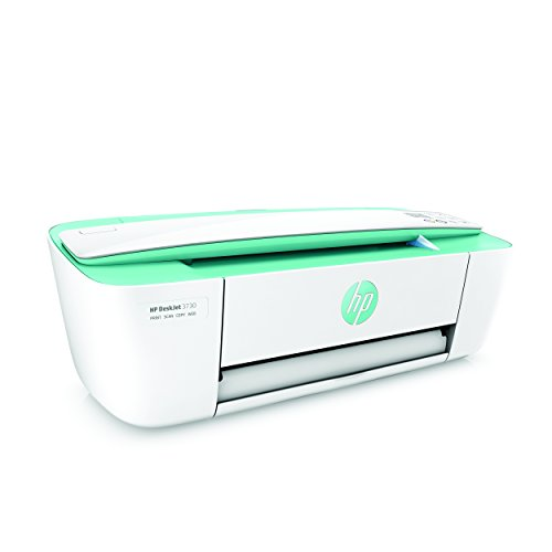 HP DeskJet 3730 Stampante Wireless All-In-One, Stampa/Copia/Scansione, 4800x1200, Verde Acqua