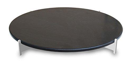 LotusGrill XL Pizzastein-Set XL! Speziell entwickelt für den raucharmen Holzkohlegrill/Tischgrill