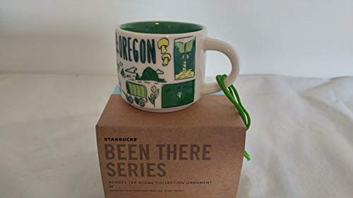 Starbucks Oregon Been There Series Ornament Espresso Cup Mug 2oz