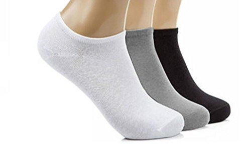 12 Pairs Mens Sport Performance Trainer Low cut Socks - Size 6-11 (Assorted)