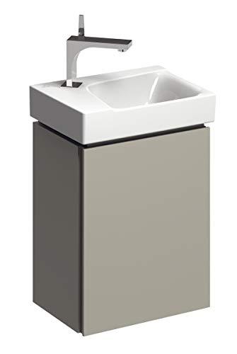 Keramag Xeno² Handwaschbecken-Unterschrank 38 cm Greige, Lack matt