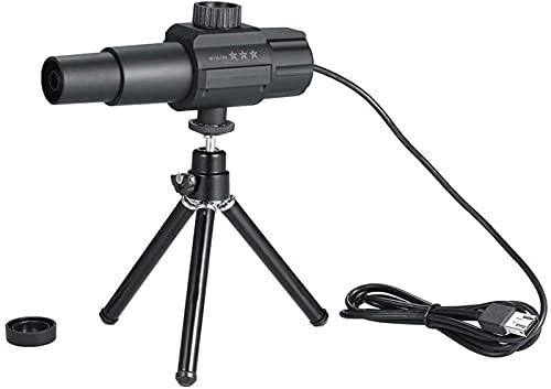 dh-8 USB Telescopio Digital Inteligente Monocular 2MP 70X Zoom Ampliación Ajustable con cámara trípode para fotografiar Grabación de Video Aves Animales Salvajes