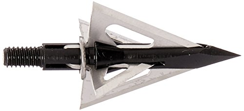 Slick Trick Viper 100 GR Broadhead (Pack of 4), 1-1/16', Black