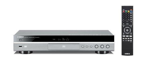 Yamaha BD-S677 Blu-ray Player (3D, App-Steuerung, DLNA, HDMI, USB) Titan