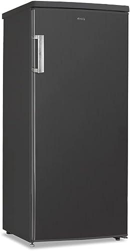 CHiQ congélateur armoire FSD140D42 140L noir Acier inoxydable, portes réversibles, 41 db, 12 ans de garantie sur le c...