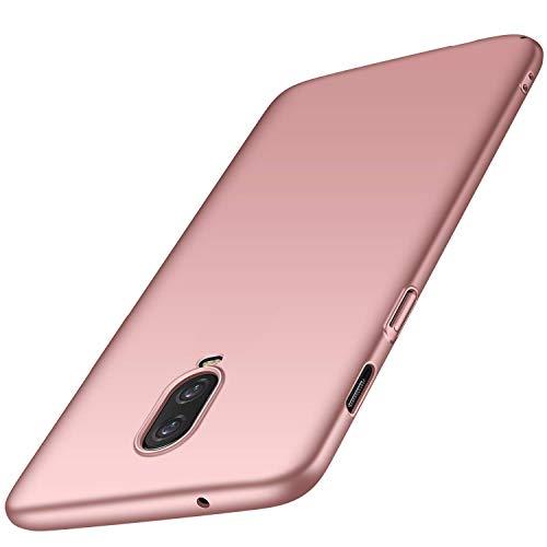 maxx OnePlus 6T Hülle Hardcase Handyhülle Bumper Schutzhülle Premium Handy Schutz passend für OnePlus 6T, Rose-Gold (Doppelpack, 2 Stück)