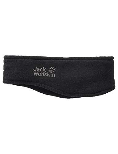 Jack Wolfskin Vertigo Headband Stirnband, Black, ONE Size (56-61CM)