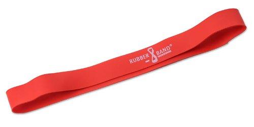 DITTMANN Rubber Band, estensore elastico per aumentare la resistenza fisica, rosso (medio)