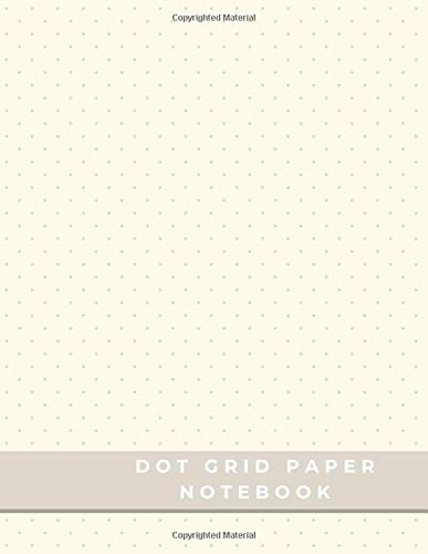 Dot Grid Paper Notebook: Dot Grid Paper Graph Dotted Journal Notebook Large 8.5 x 11 inches - 104 pages (Volumn 49)