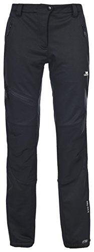 Trespass Mesita Softshell TRS TP100 Pantalón, Mujer, Negro (blk), XL