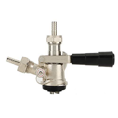 Dispensador de cerveza Acoplador de barril de cerveza Sistema tipo D con válvula de alivio de presión de seguridad para uso doméstico en EE. UU.