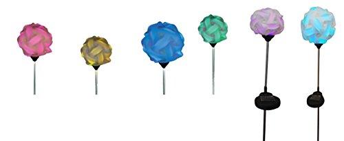 """Solar Stableuchte \""""Leuchtball\"""" 83cm"""