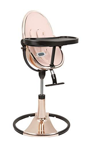 Bloom Fresco Loft Chrome Chaise haute édition spéciale Rose Gold avec kit de démarrage (coussin) Rose water rose
