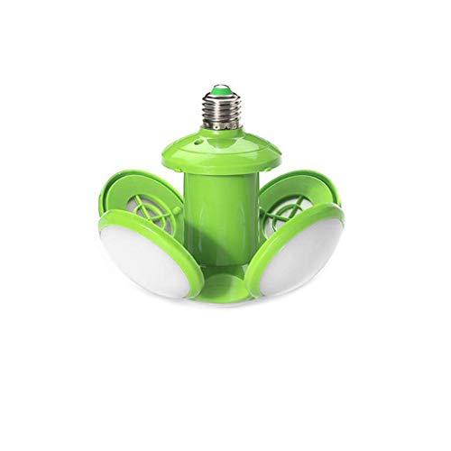 Skxinn LED-faltendes Nachtlicht der Fußball-UFO-Birnen-hohen Helligkeit 30W für zuhause Schule-Lager-Beleuchtung Ausverkauf(Grün)