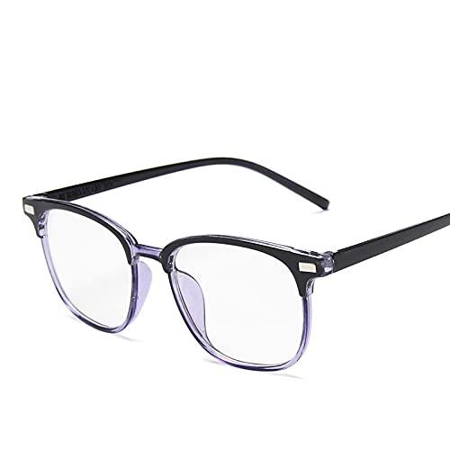 Huguo Gafas de Bloqueo de luz Azul para Mujer Nuevas Gafas ópticas Vintage Protector de Pantalla para Hombre Anti Gafas de Gafas Azules 2