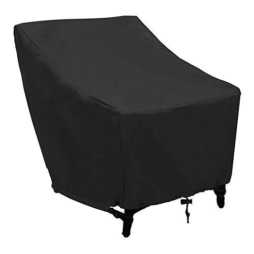 YDL Oxford Paño Cubierta de Polvo Lluvia Impermeable Impermeable Polvo Muebles Silla Cubierta de Silla Plegable Sol Sombra sofá Protector Exterior jardín (Color : 70 X 79 X 102CM)