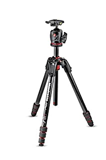 Manfrotto mk190goc4-bhx Carbon Fibre 4-Section Tripod Kit for Cameras Black (B0779BXBH5) | Amazon price tracker / tracking, Amazon price history charts, Amazon price watches, Amazon price drop alerts