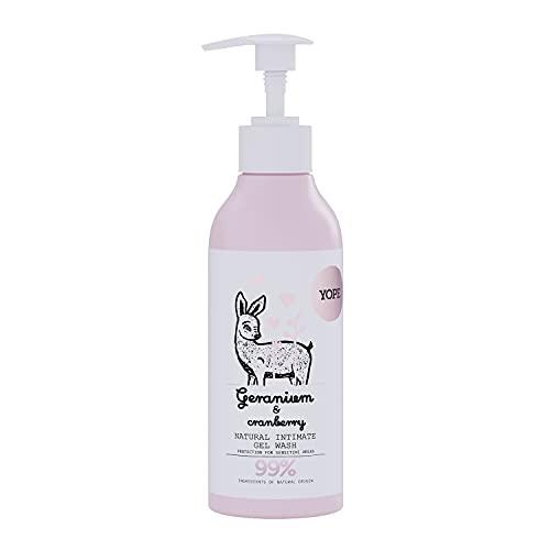 Yope Natürliche Intimpflege Damen | Intim Wash 300 ml Spender | Waschlotion für den Intimbereich | Intimwaschlotion für Intimbereich