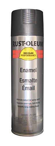 Rust-Oleum V2177838 High Performance V2100 System Semi-Gloss Rust Preventive Enamel Spray Paint, 20-Ounce, Black, 6-Pack