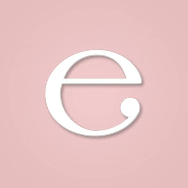 Wooden Wall Letter Hanging Initials Letter E