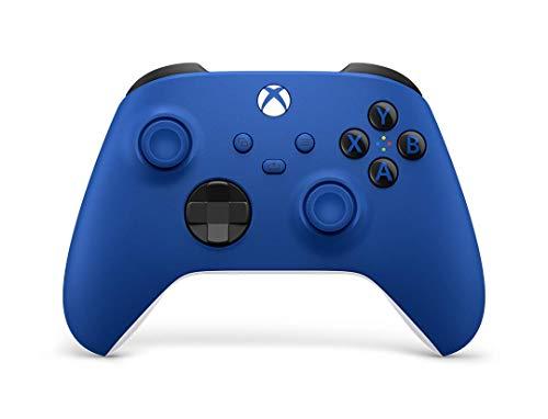 Xbox ワイヤレス コントローラー (ショック ブルー)
