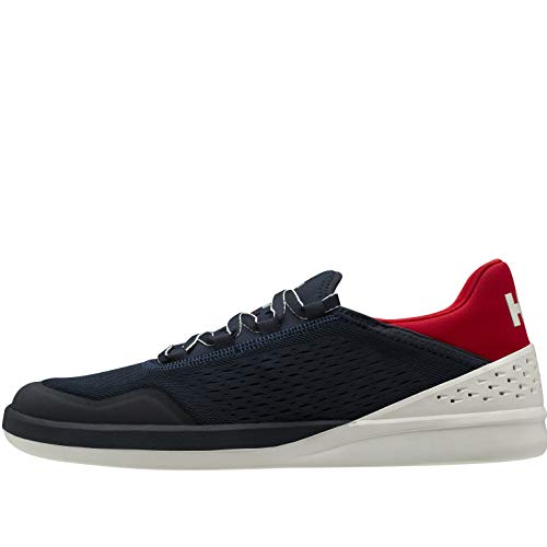 Helly Hansen Herren Stemforth Bootsschuh, Navy/Off White/Red 162, 40 EU