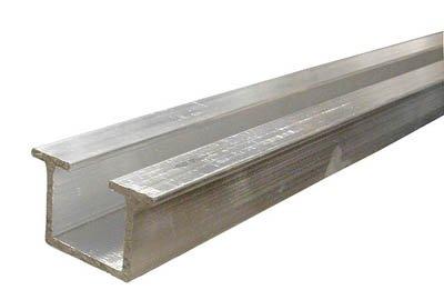 Hettich Top Line Grant Sliding Door Hardware 4 Ft Double Track Top Mount For 3/4' Door