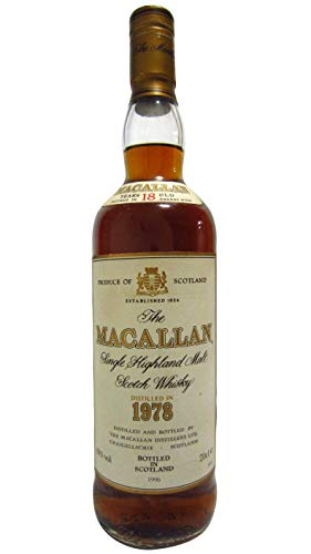 Macallan - Single Highland Malt - 1978 18 year old Whisky