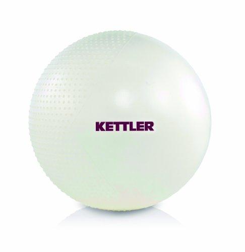 Kettler Gym Ball, Perlmutt Weiß, 65 cm, 07351-200