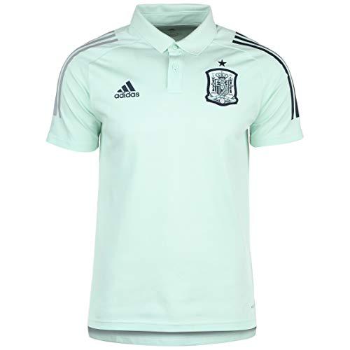 adidas Selección Española Temporada 2020/21 Polo, Unisex, Dash Green, XXL