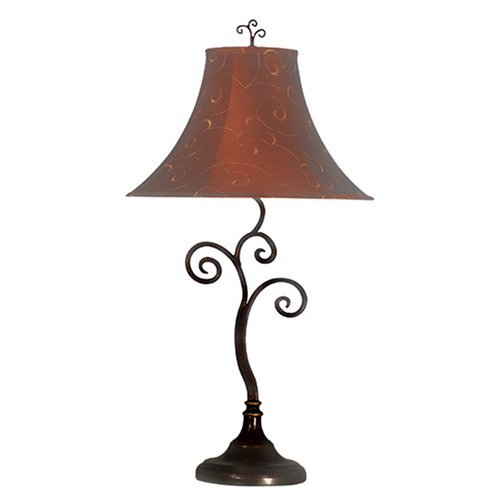 Kenroy Home 31380BRZ Richardson Table Lamp, 30.5 Inch Height, 16 Inch Diameter, Bronze