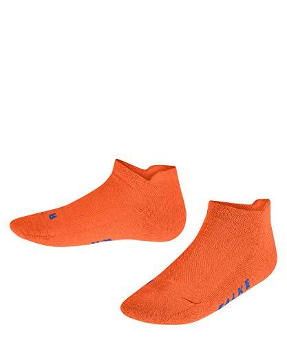 FALKE Unisex Kinder Reflec 2-Pack Sneakersocken, Orange (Flash Orange 8034), 31-34