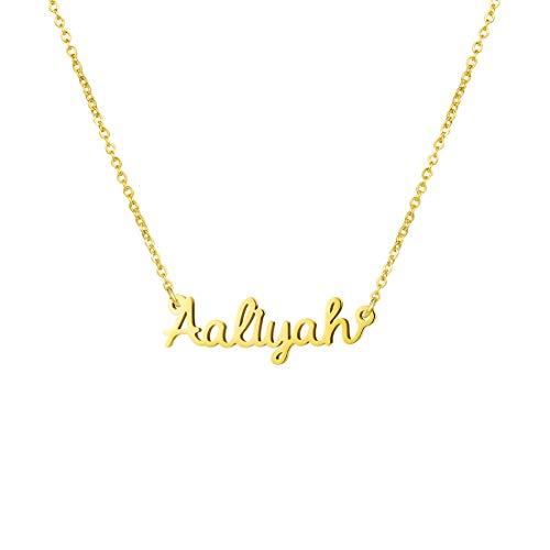 Awegift Personalized Name Necklace