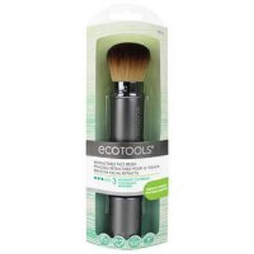 Price comparison product image EcoTools Retractable Kabuki Travel Foundation Brush for Blush Bronzer & Powder (Color may vary)